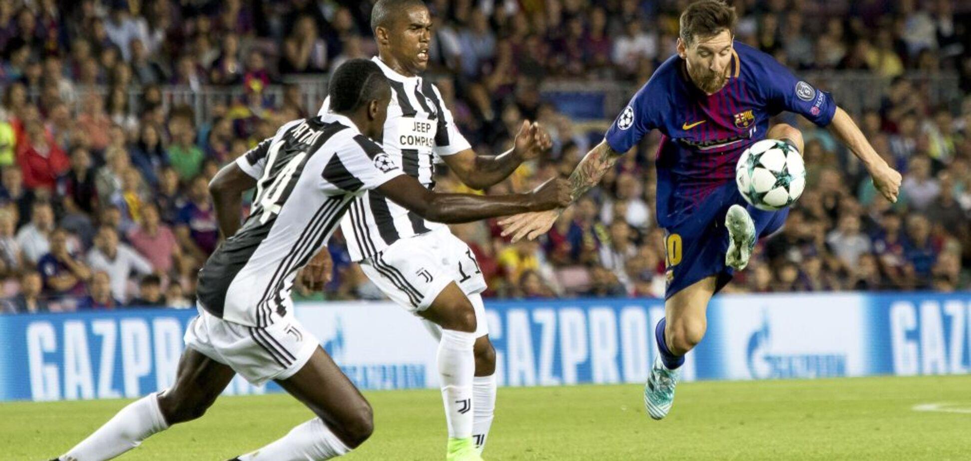 'Барселона' разгромила 'Ювентус' в центральном матче 1-го тура Лиги чемпионов
