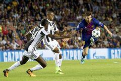 'Барселона' розгромила 'Ювентус' в центральному матчі 1-го туру Ліги чемпіонів