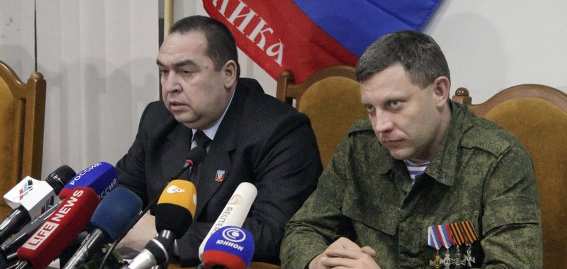 Кремль решил заменить главарей 'Л/ДНР' Плотницкого и Захарченко: названы имена преемников
