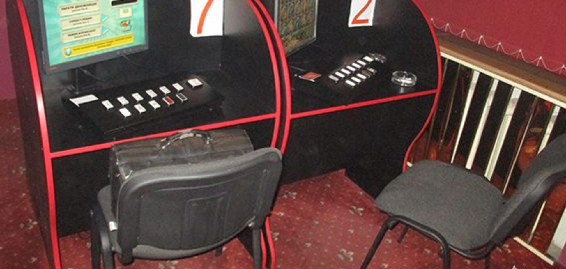 В Запорожье подпольные игротеки маскировались  под национальную лотерею