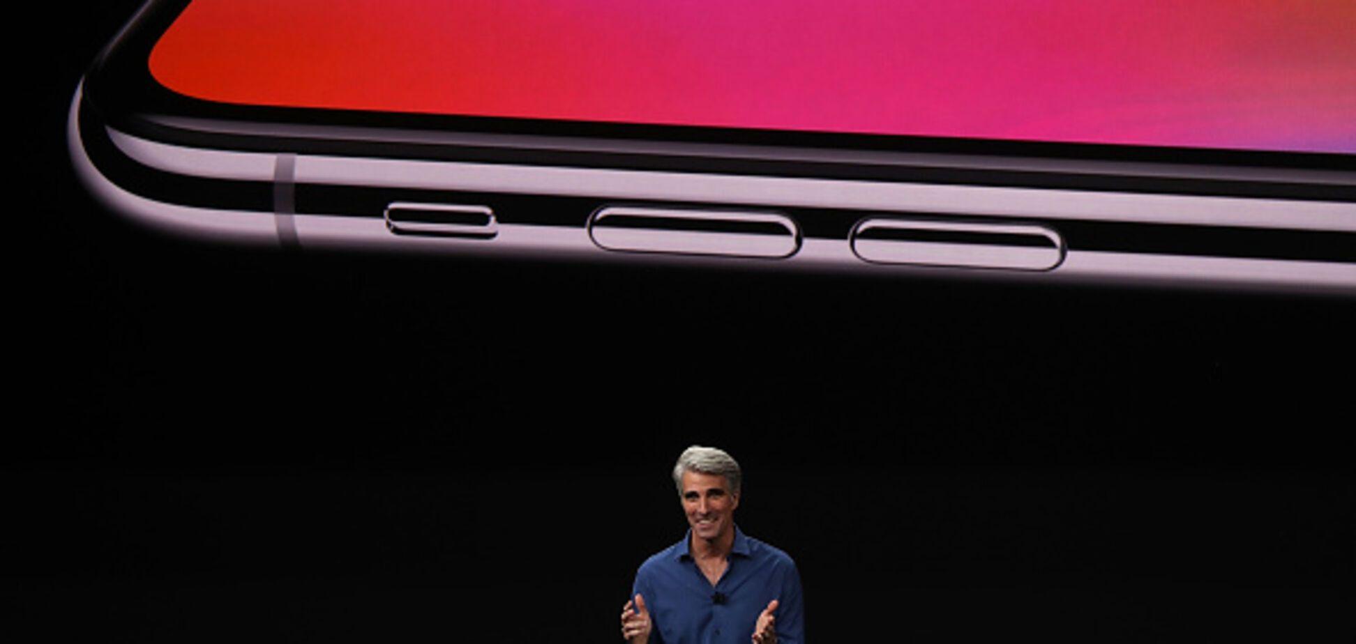 Презентація iPhone X затьмарилася безглуздим курйозом