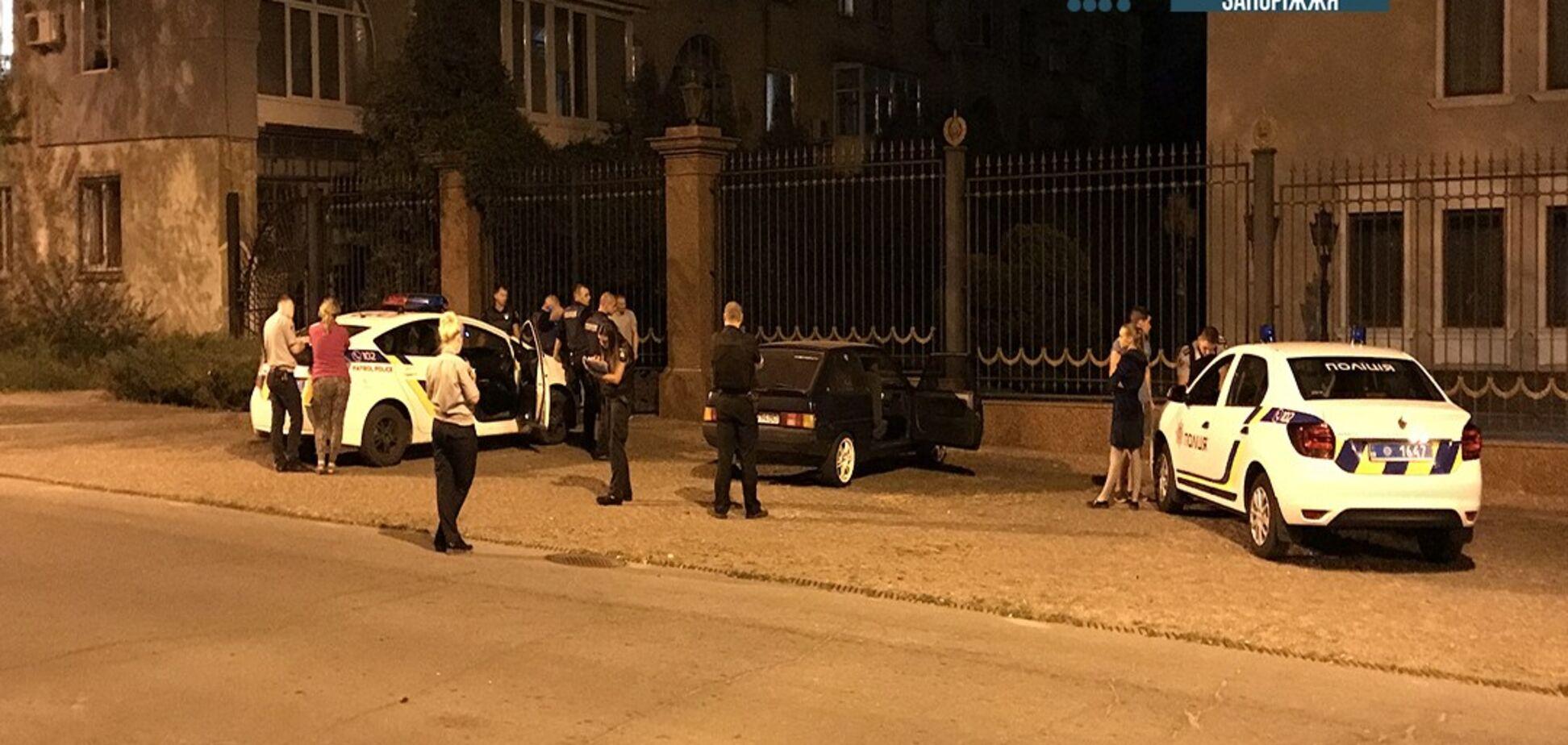 В Запорожье прогремел взрыв у бывшего офиса спонсора Партии регионов