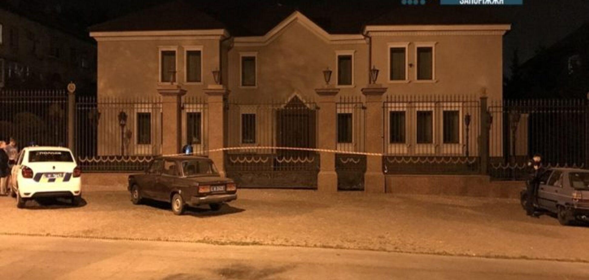 В Запорожье прогремел взрыв возле офиса Анисимова
