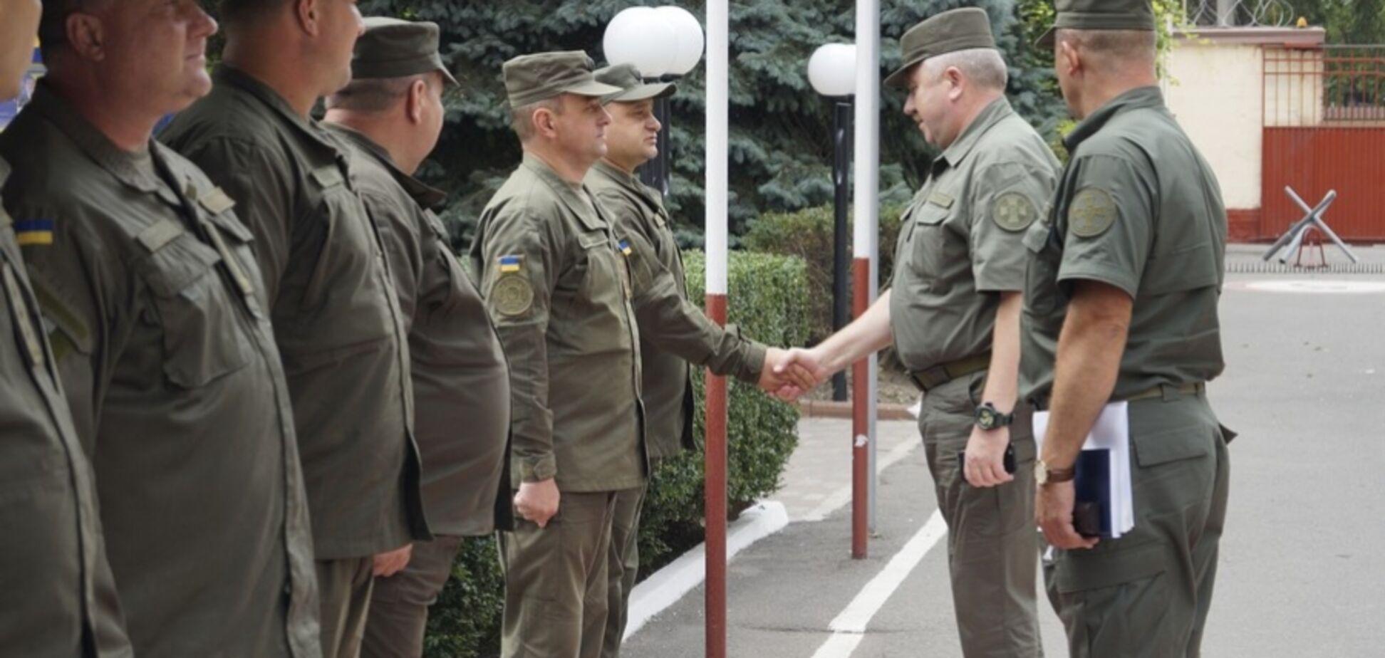 Нацгвардия отправила новые подразделения к границе с Приднестровьем