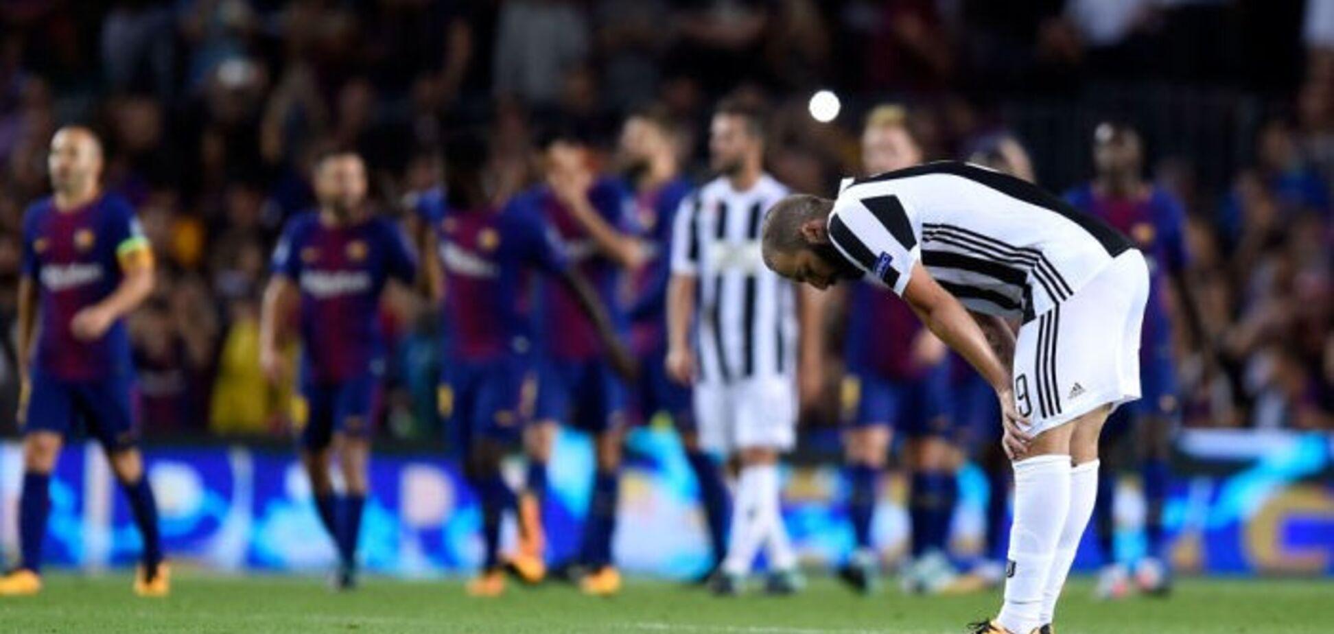 Матч Ліги чемпіонів 'Барселона' - 'Ювентус' завершився гучним скандалом