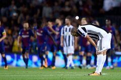 Матч Лиги чемпионов 'Барселона' - 'Ювентус' завершился громким скандалом: опубликовано видео