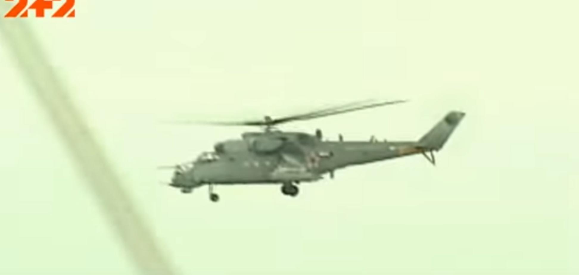 Российский боевой вертолет над Украиной: провокацию прокомментировали в ВСУ