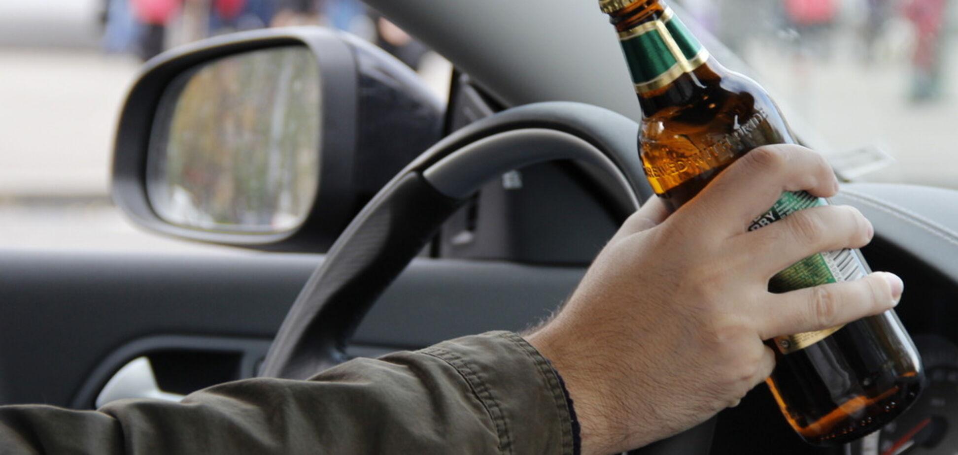 Киевлянам озвучили шокирующую статистику пьяных за рулем в столице