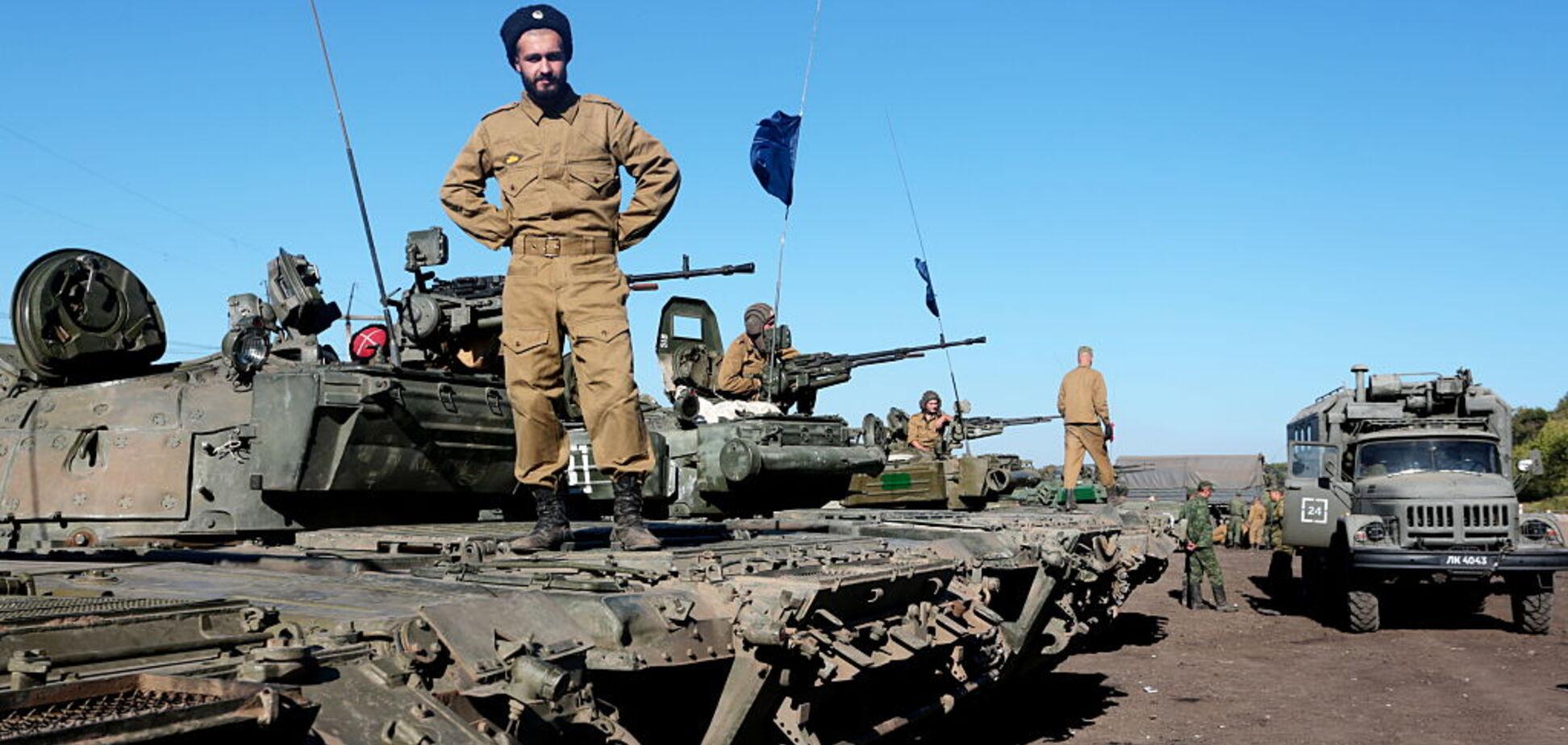 Спрятали 175 танков: ОБСЕ выяснила, где террористы 'Л/ДНР' держат технику