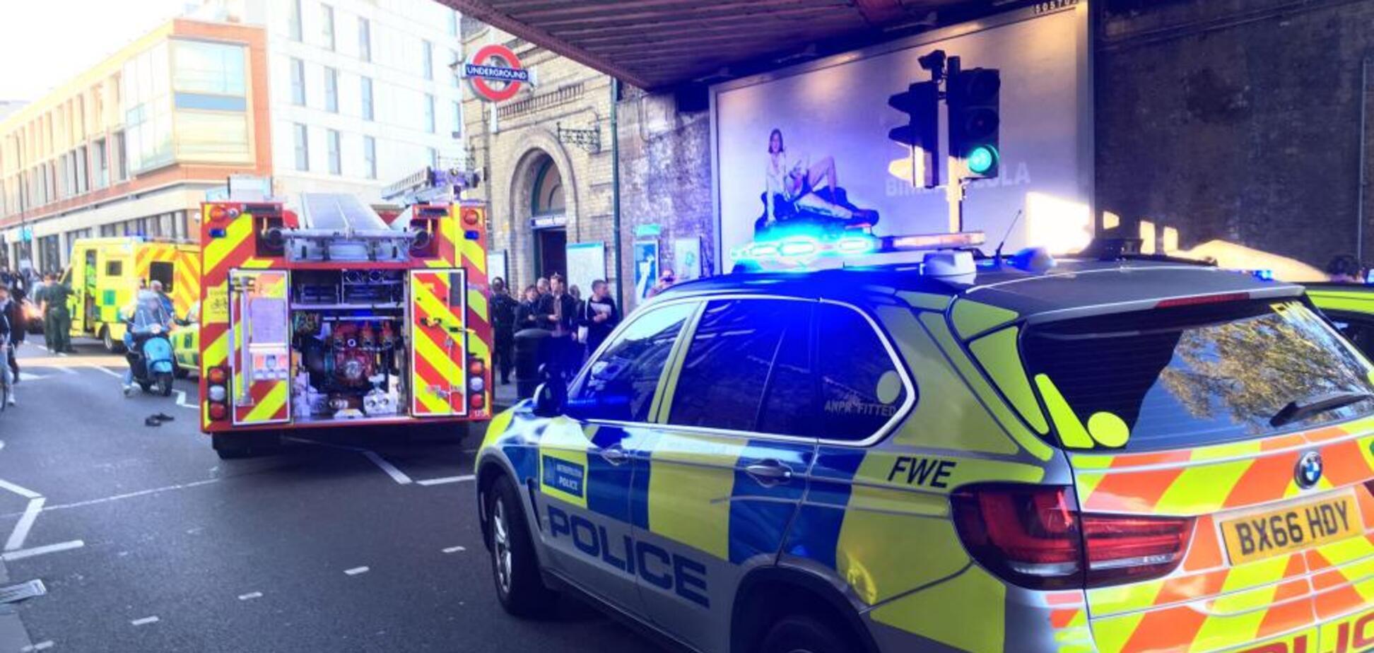 Взрыв в лондонском метро: появилось фото пострадавшего