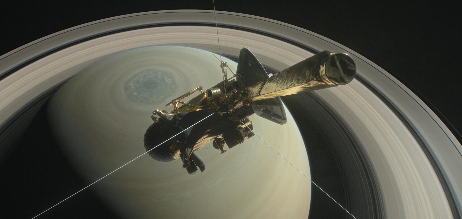 'Спасибі, Cassini, і прощай': як біля Сатурна загинув космічний корабель
