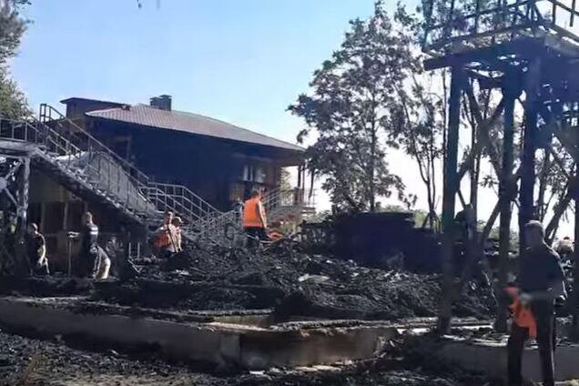 Пожар в детском лагере в Одессе: появилось видео последствий трагедии