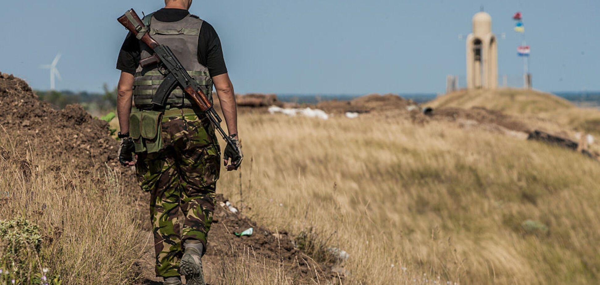 Ранен украинский военный: ситуация в зоне АТО обострилась
