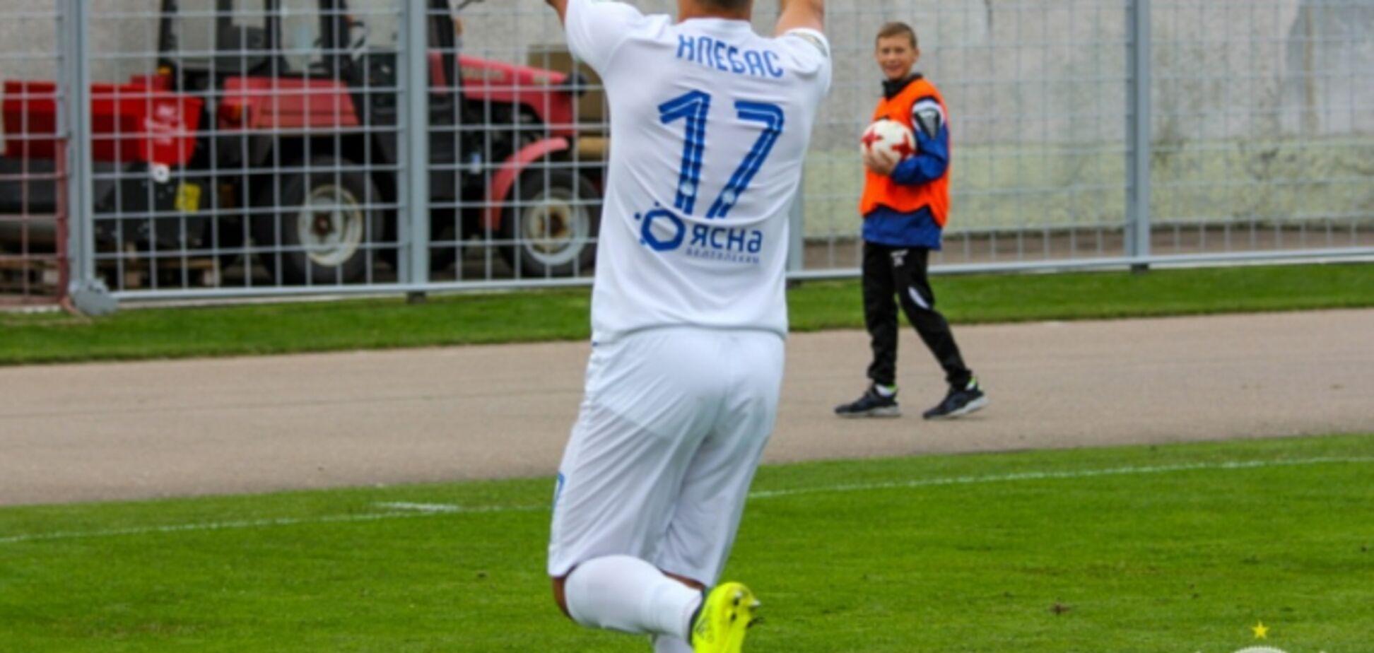 Футболіст 'Динамо' забив ювелірний переможний гол у Білорусі