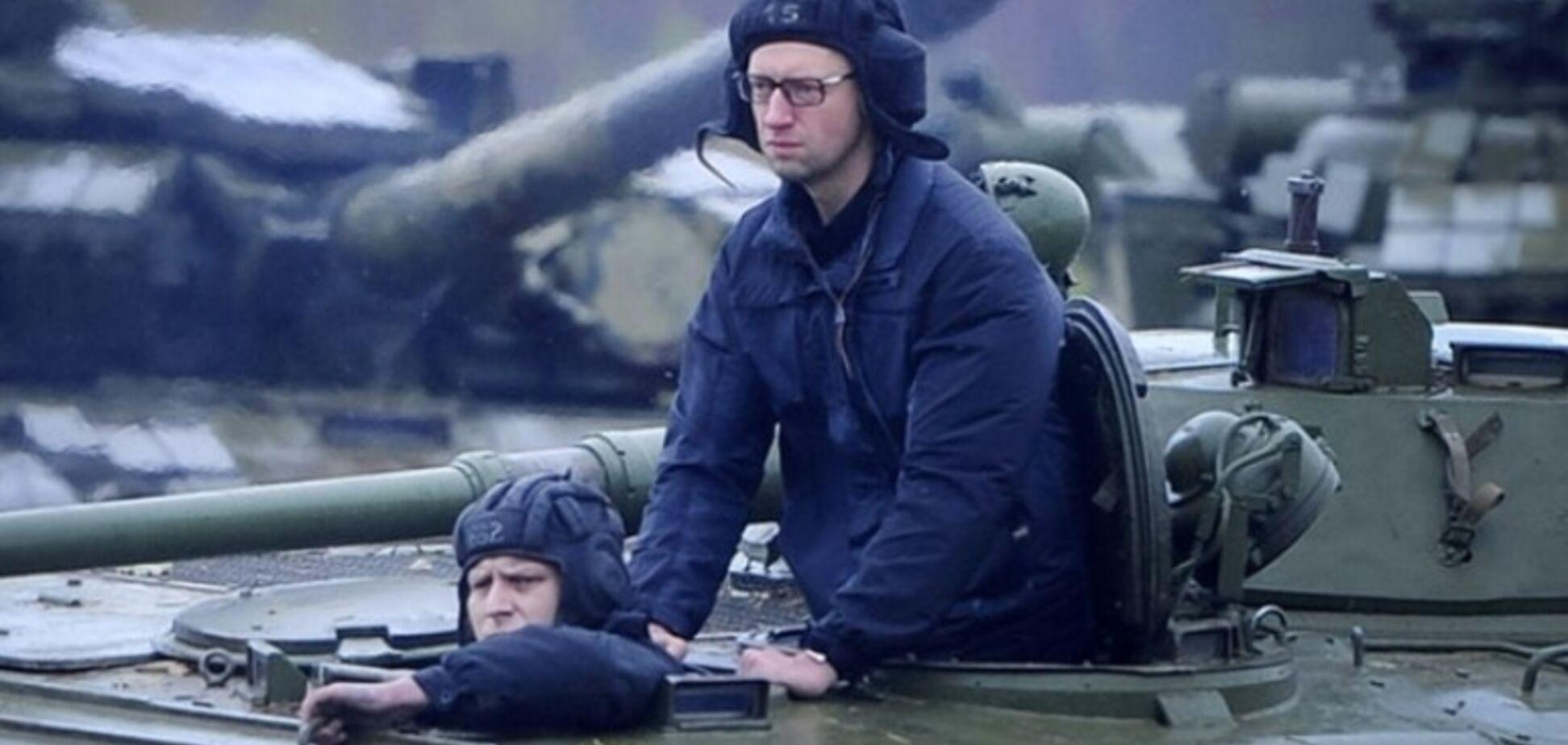 Как Яценюк в Приднестровье 'воевал'