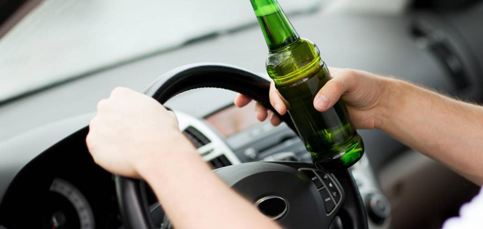 Штрафи до 40 тисяч і спецперевірки: у Раді мають намір оголосити війну п'яним водіям