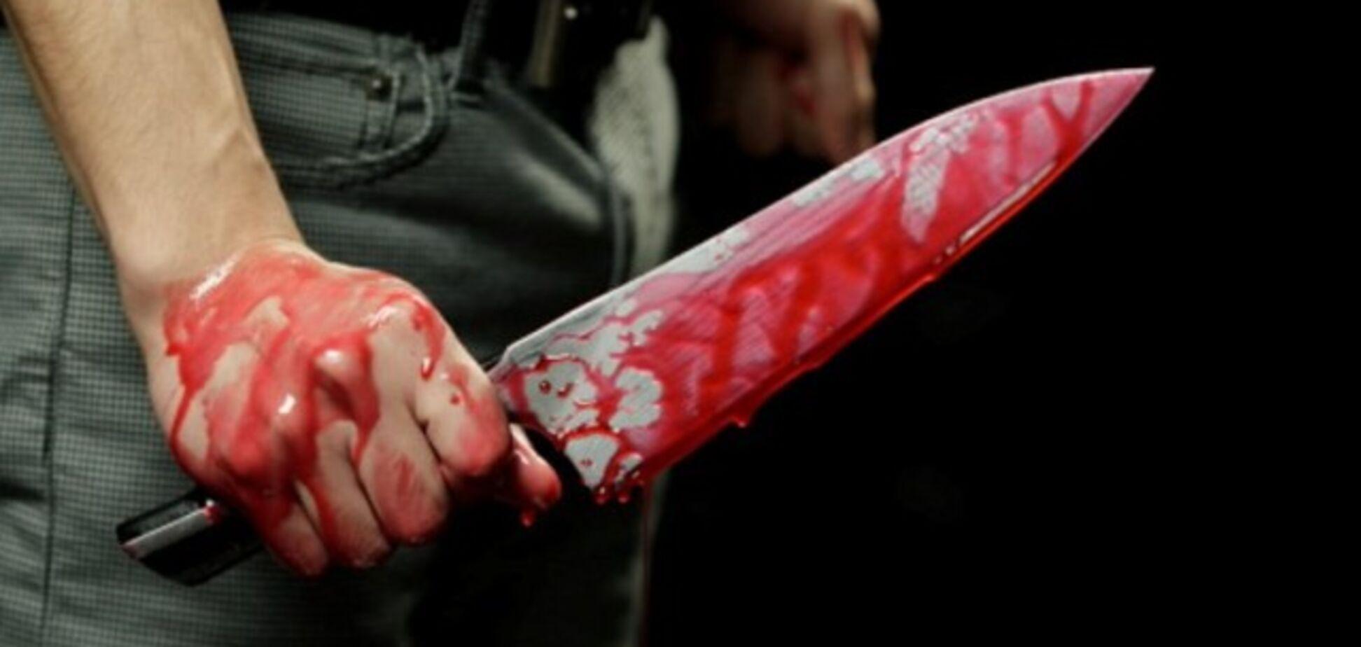 В Запорожье честь женщины отстаивали с помощью ножа