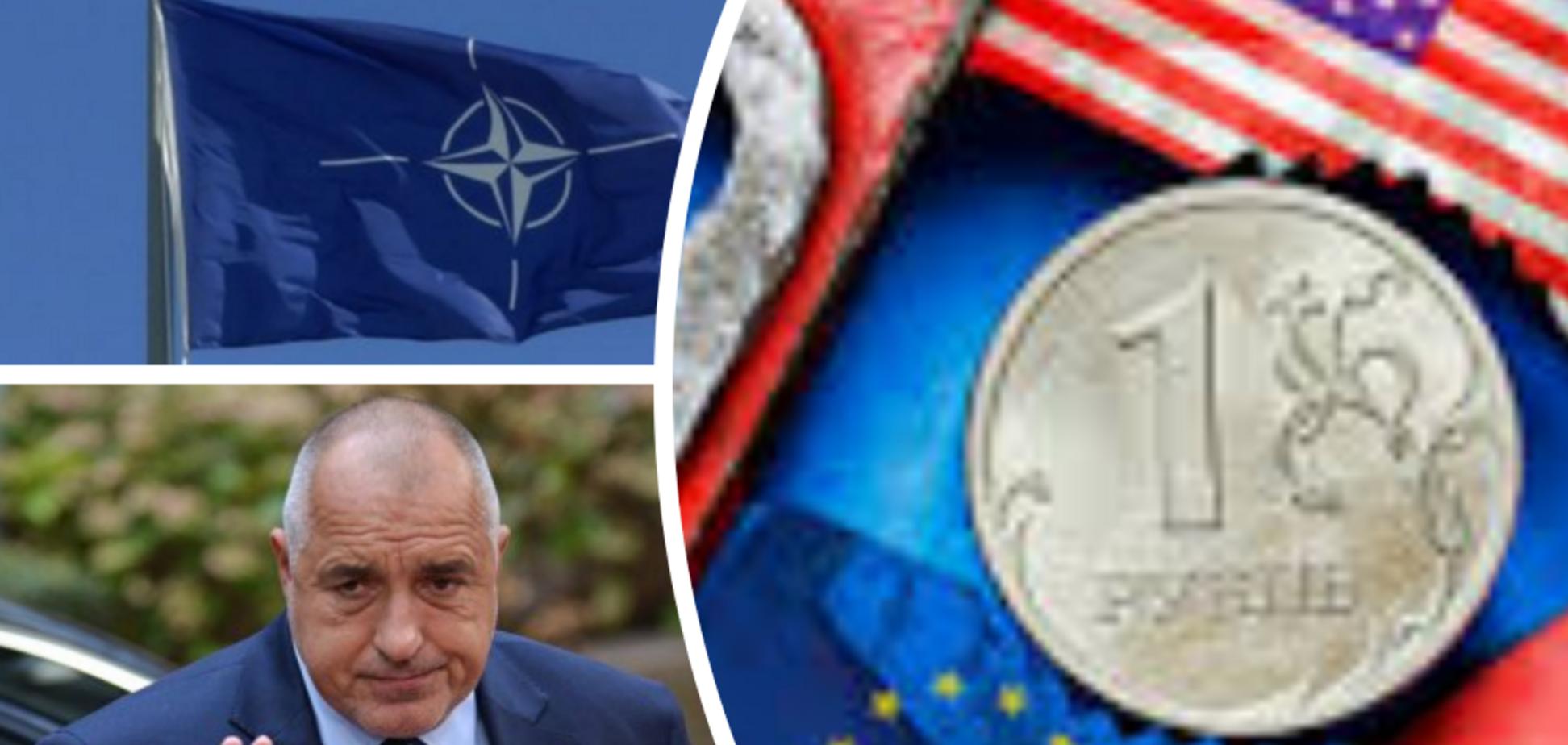 Санкци ЕС, НАТО, Россия