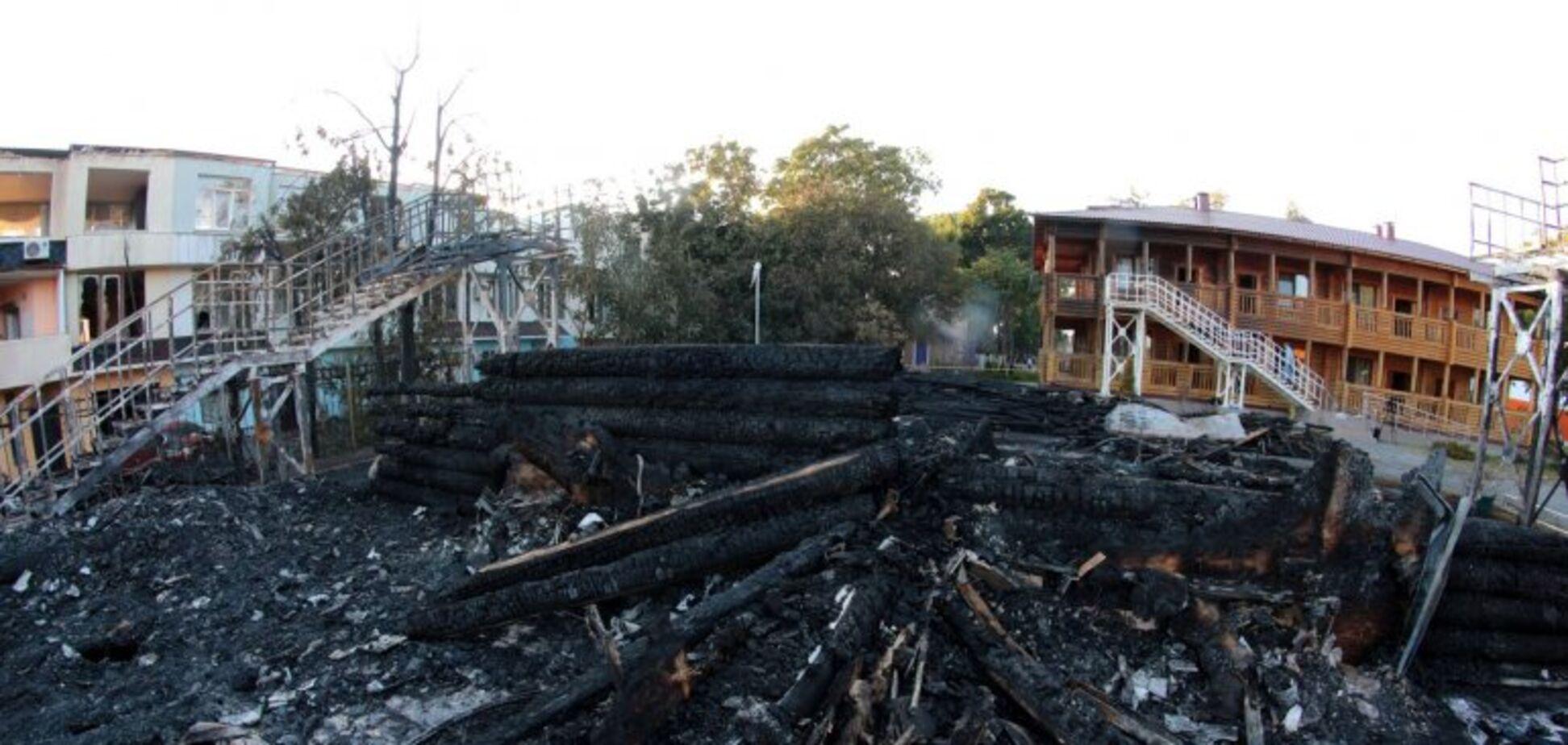 'Халатність': Луценко назвав відповідального за пожежу у 'Вікторії'
