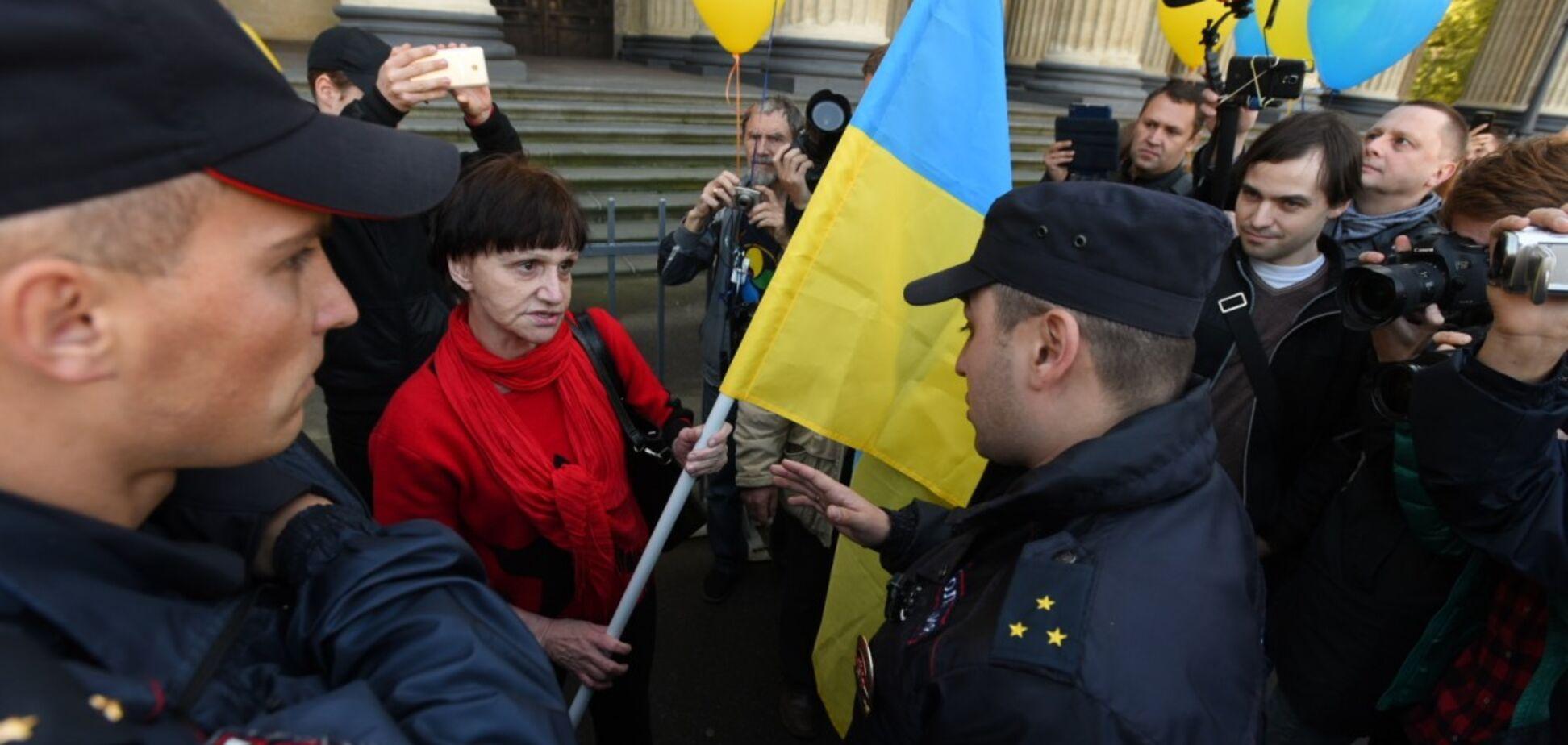 Полиция Санкт-Петербурга сорвала марш против войны с Украиной