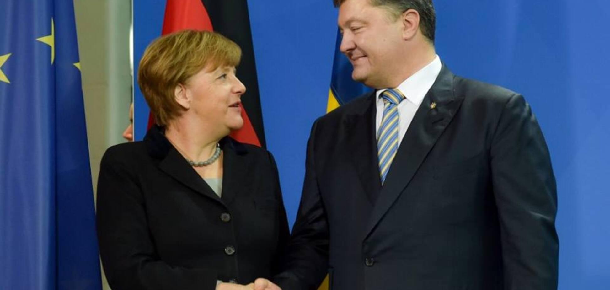 'Щирі вітання': Порошенко зробив гучну заяву про вибори в Німеччині, не чекаючи офіційних результатів