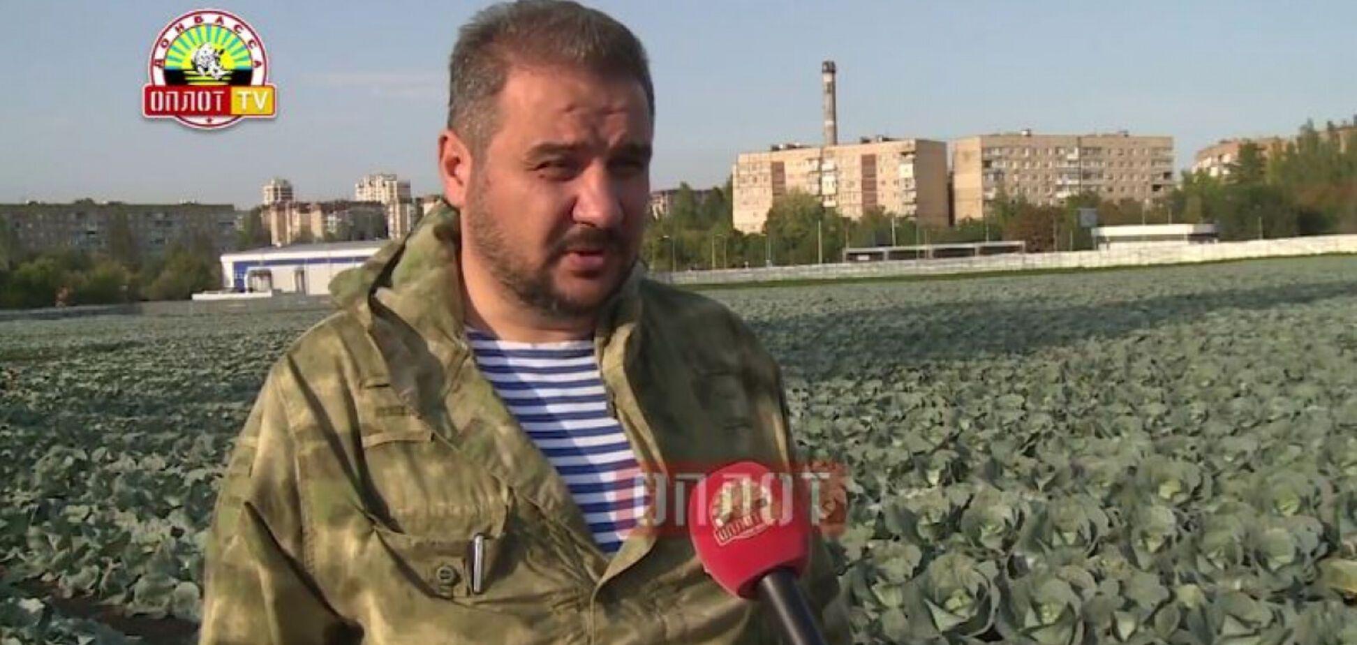 Взірвали через їжу: ватажок 'ДНР' вийшов на ТБ неушкодженим