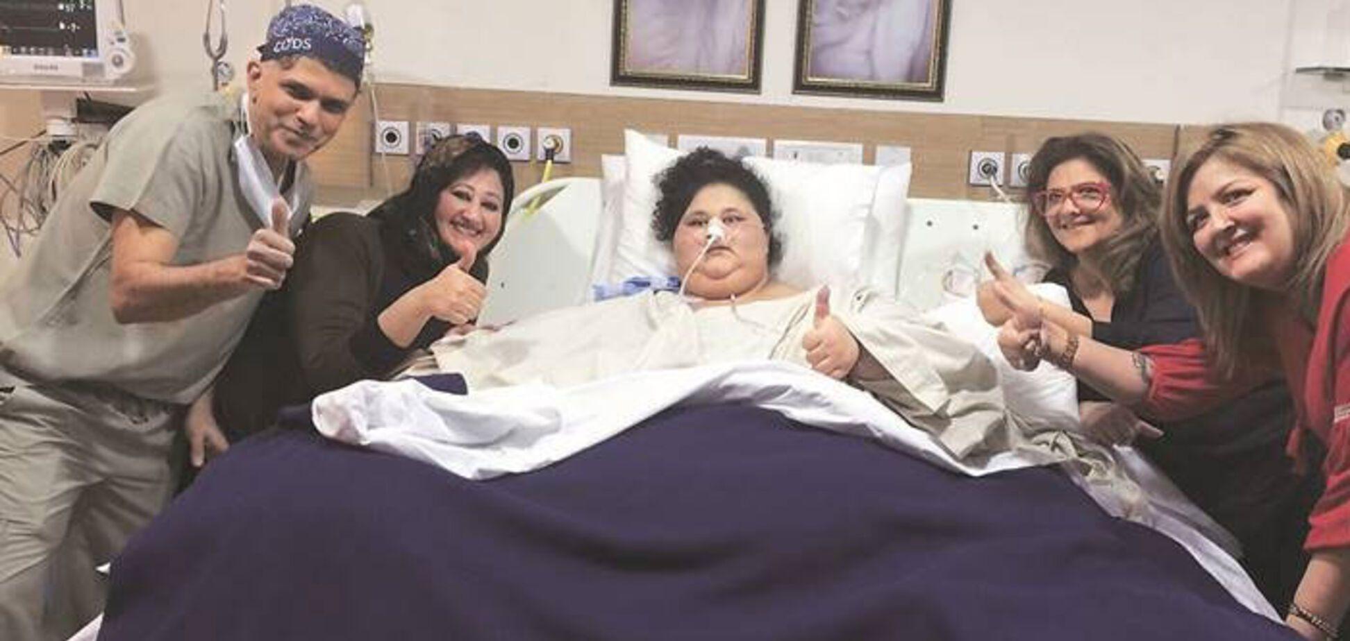 В ОАЕ померла 300-кілограмова єгиптянка: фото колись найтовщої жінки в світі