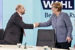 Меркель і Шульц