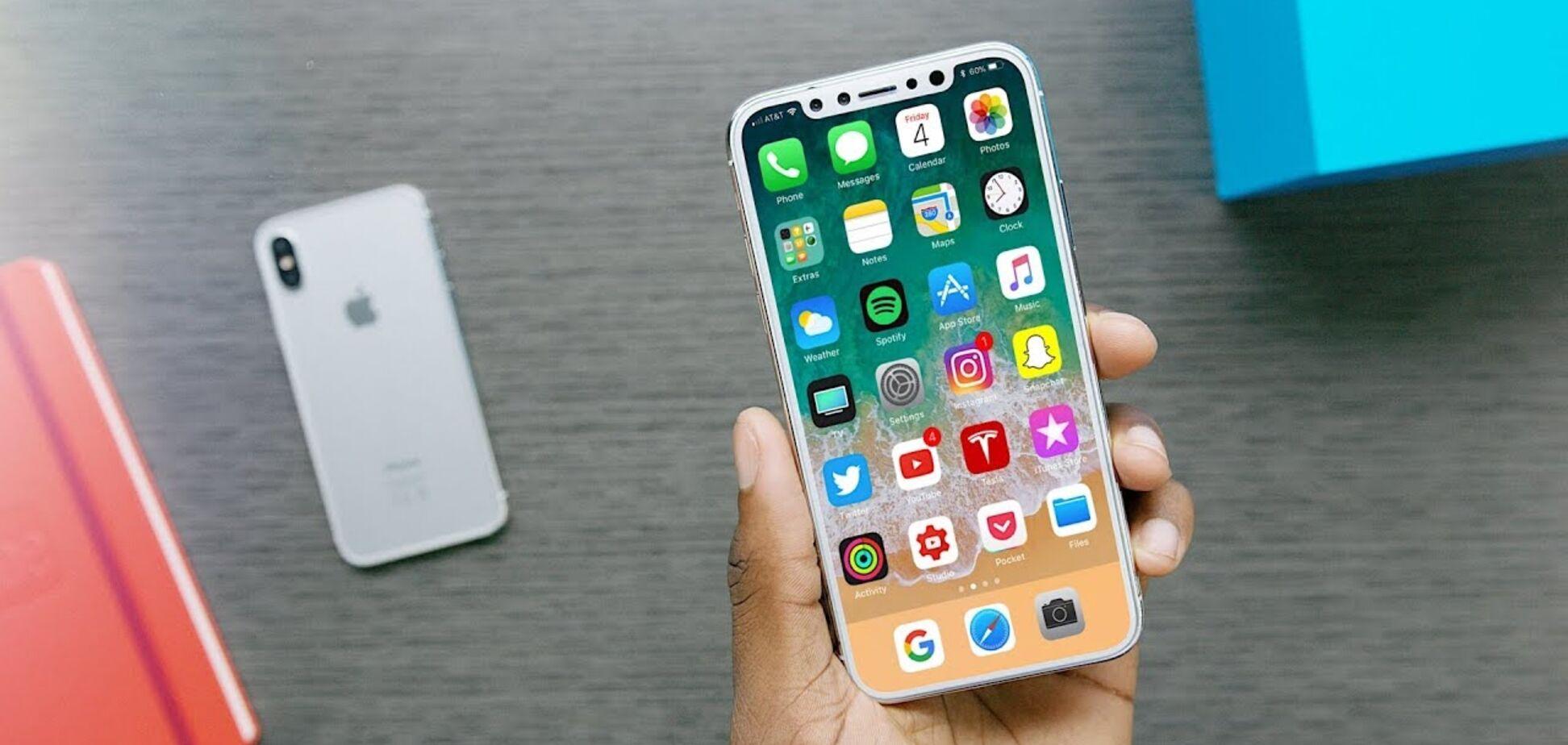 iPhone 8 перевірили на міцність: відео, як він розбивається