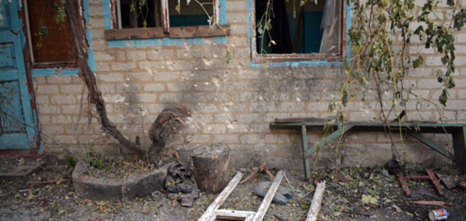 Атака на Мар'їнку: з'явилися фото наслідків обстрілу мирних жителів