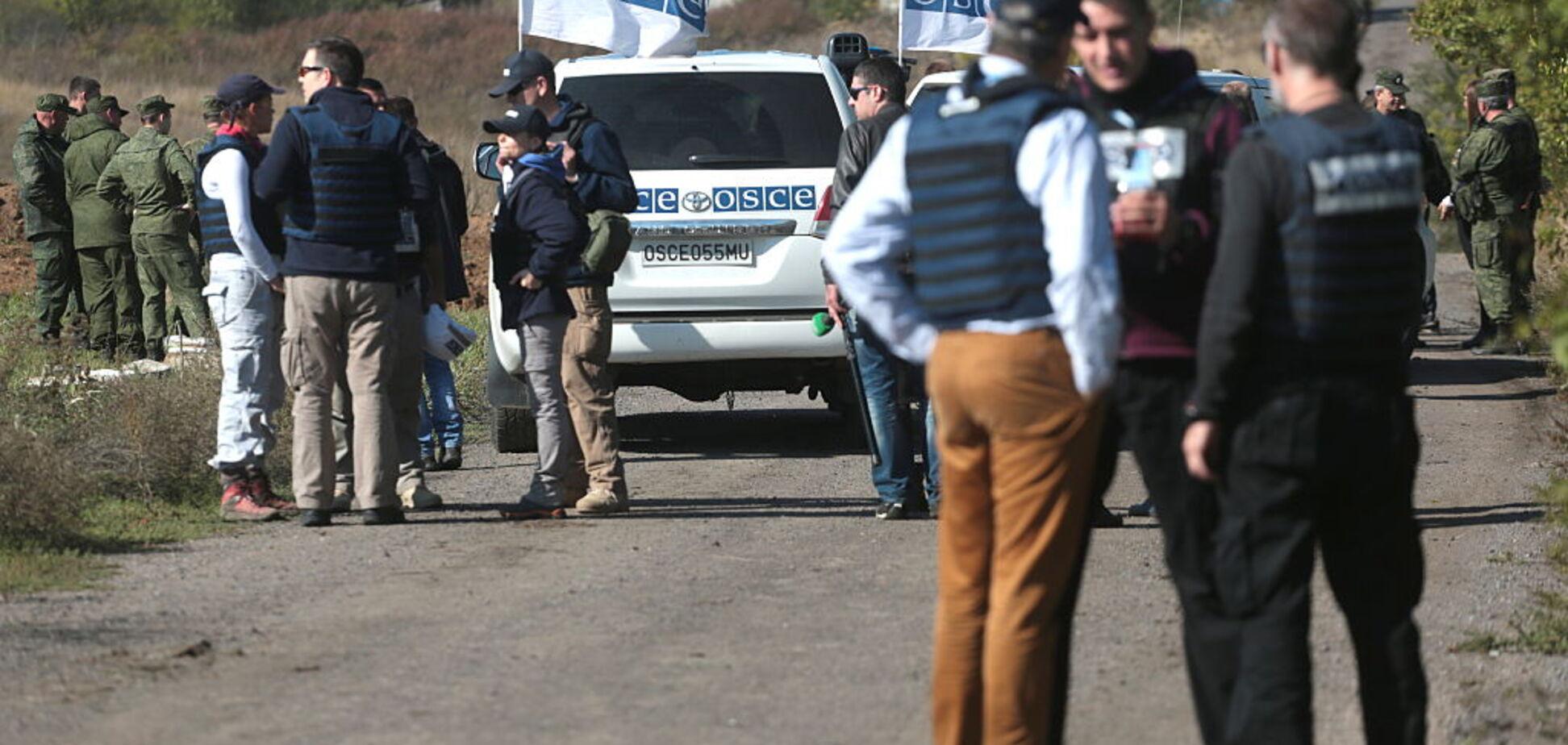 Террористы 'Л/ДНР' устроили грубую провокацию против ОБСЕ