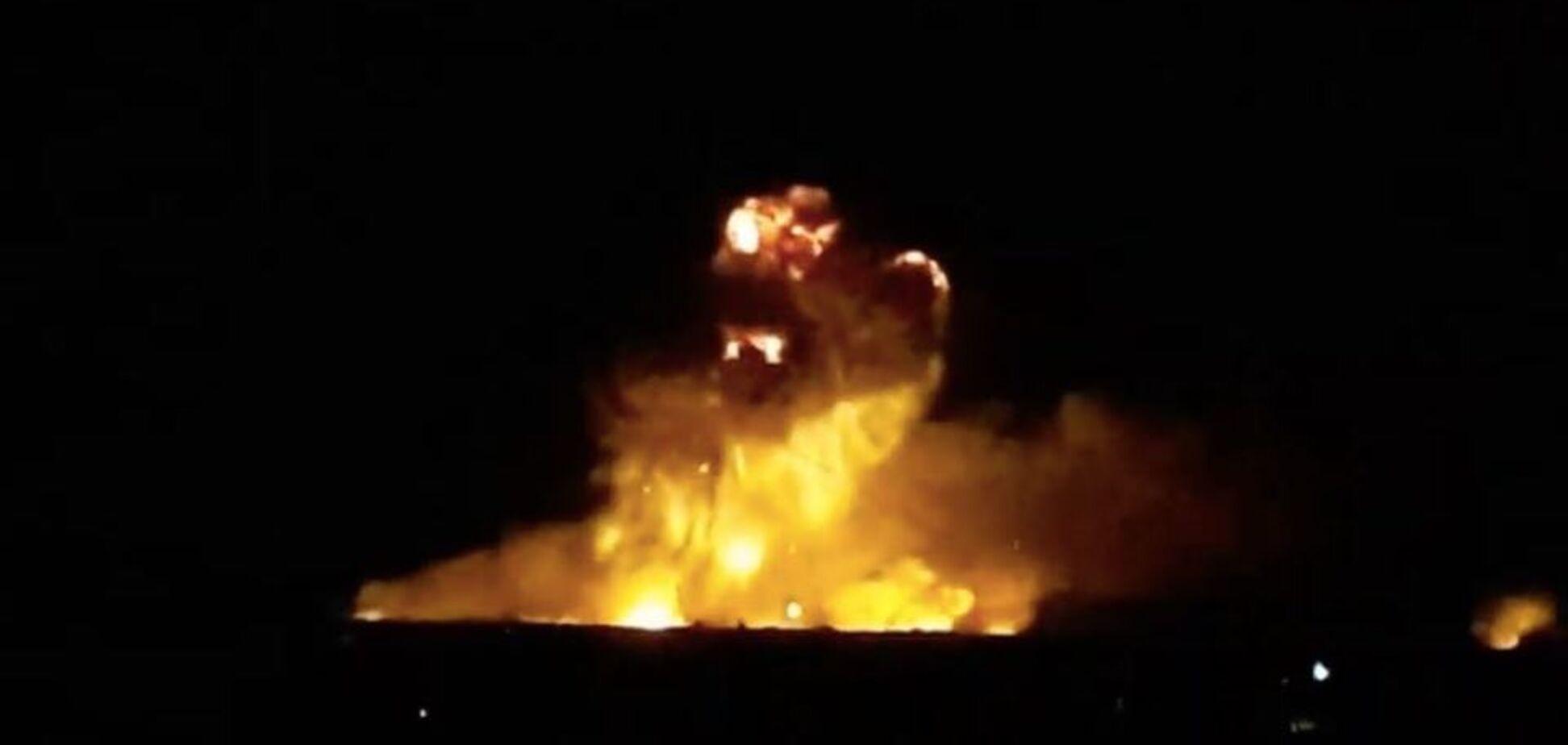 Взрывы на складе боеприпасов: над Винницей запретили полеты самолетов
