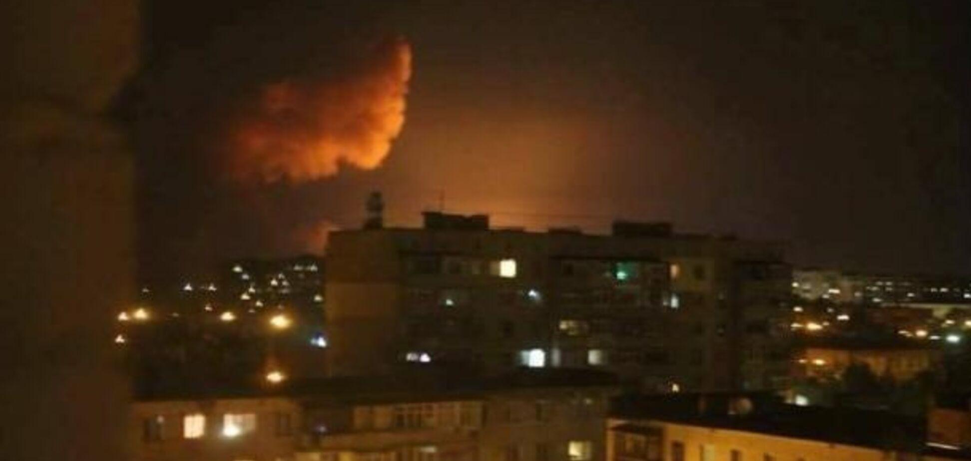 В Калиновке прекратились взрывы: в Минобороны сообщили последние данные