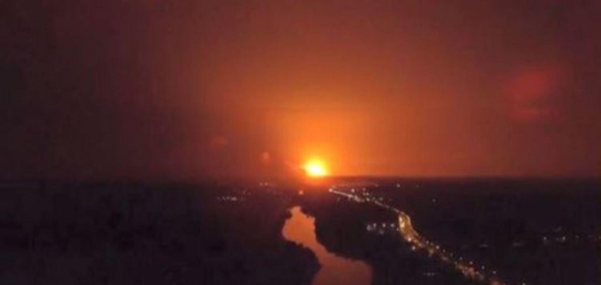'Сухі факти про Калинівку': у Порошенка назвали причину НП з боєприпасами