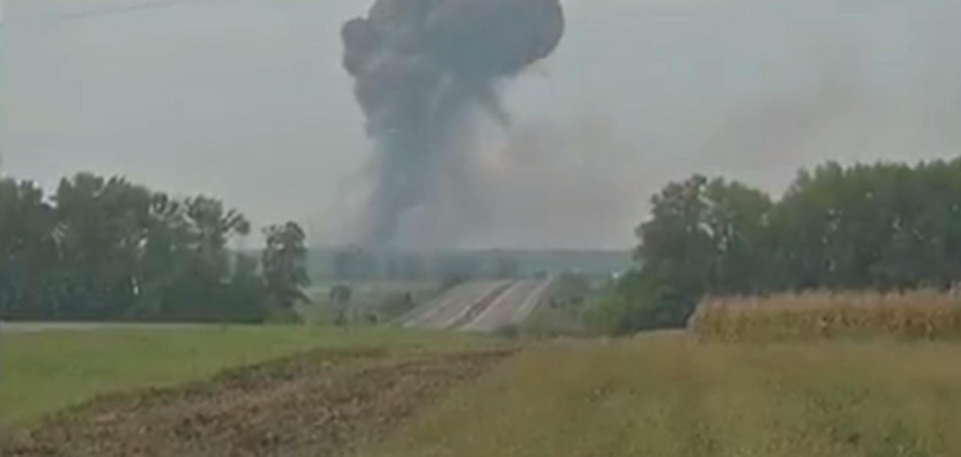 Взрывы в Калиновке: смотреть видео онлайн, что творится под Винницей