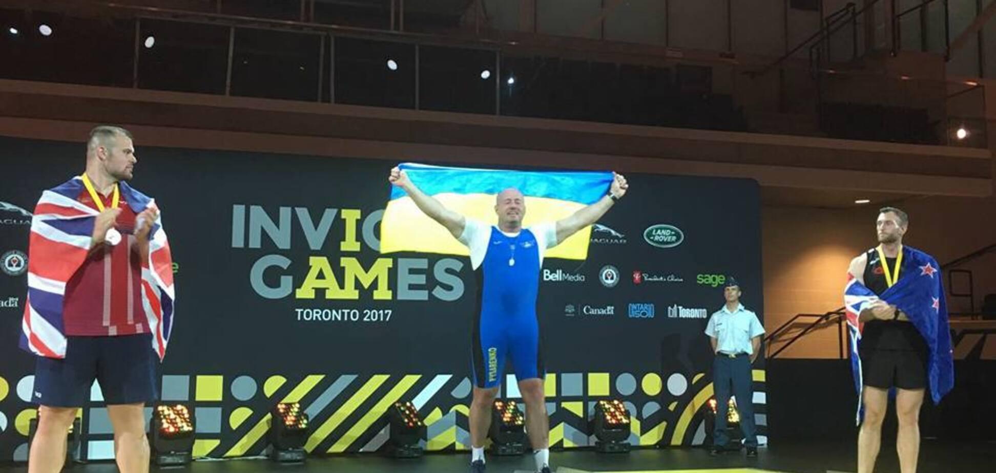 Украина добыла третье 'золото' на 'Играх непокоренных'
