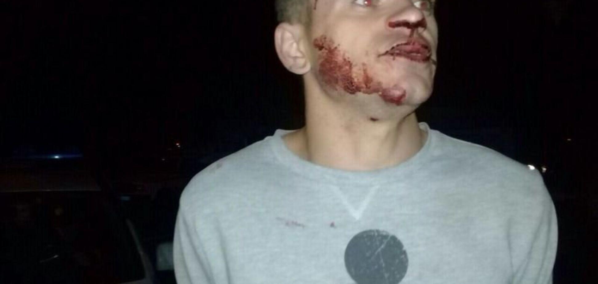 Пьяные военные в Николаеве