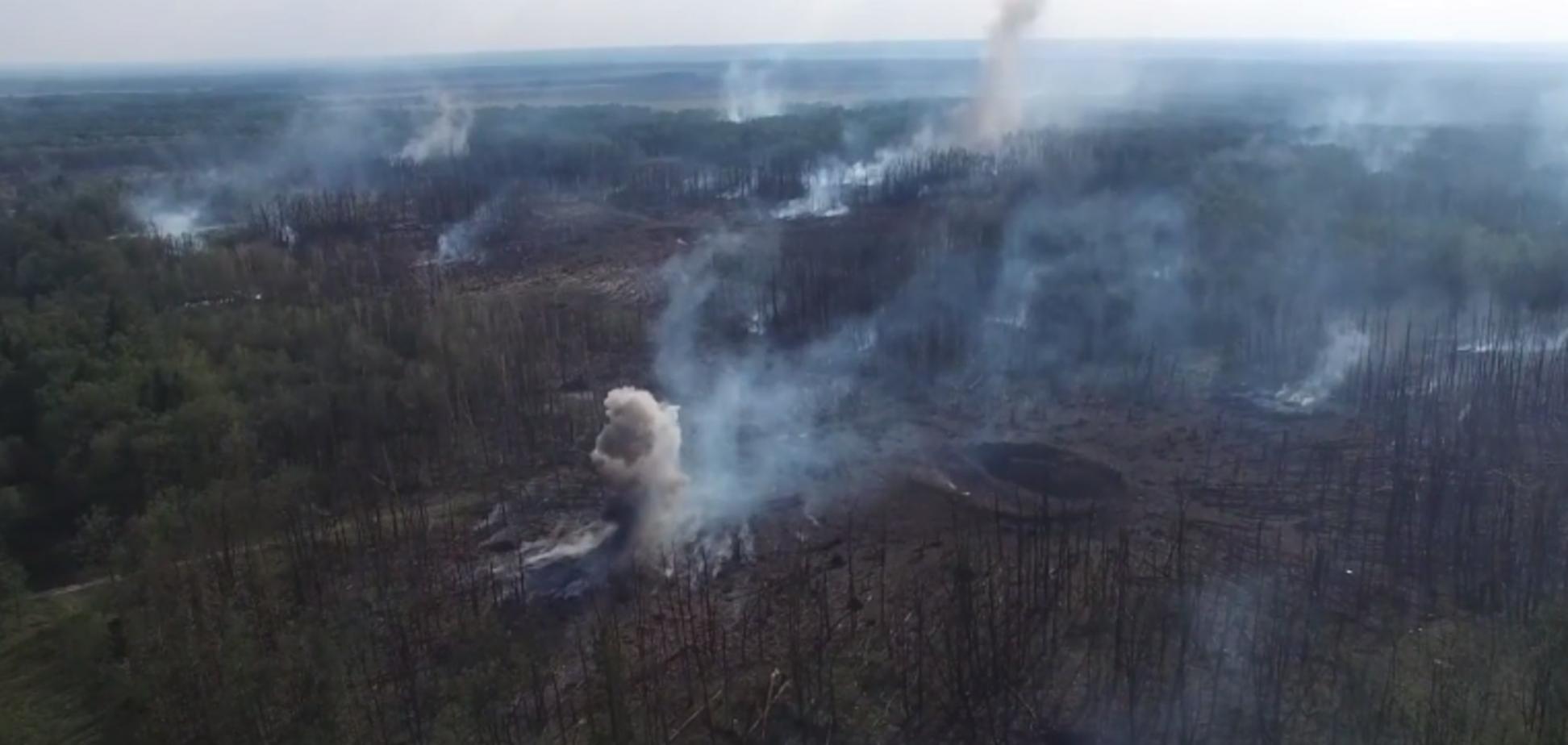Что осталось от складов в Калиновке: появились фото последствий взрывов