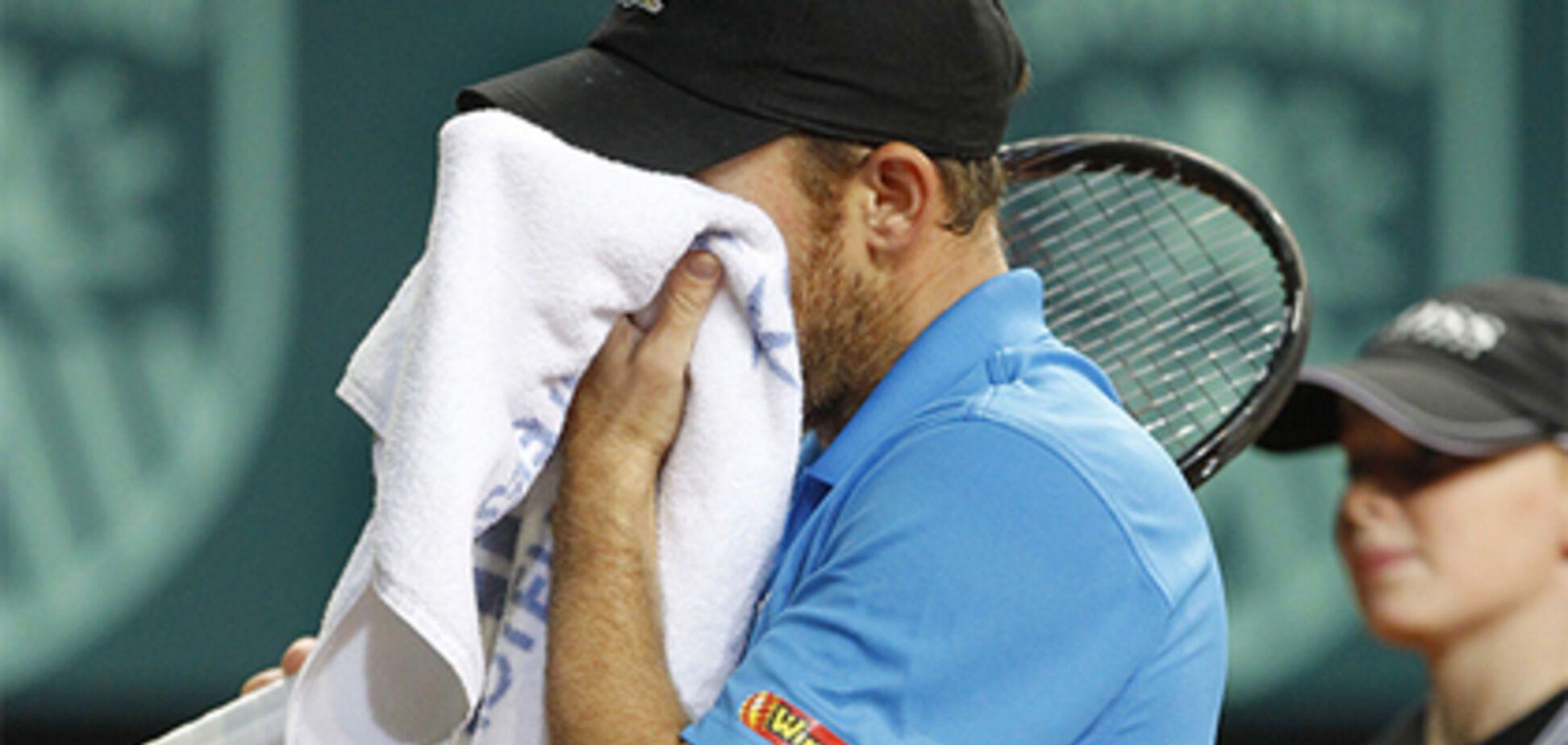 Суперник відмовився продовжувати матч із найкращим тенісистом України через незвичайну причину