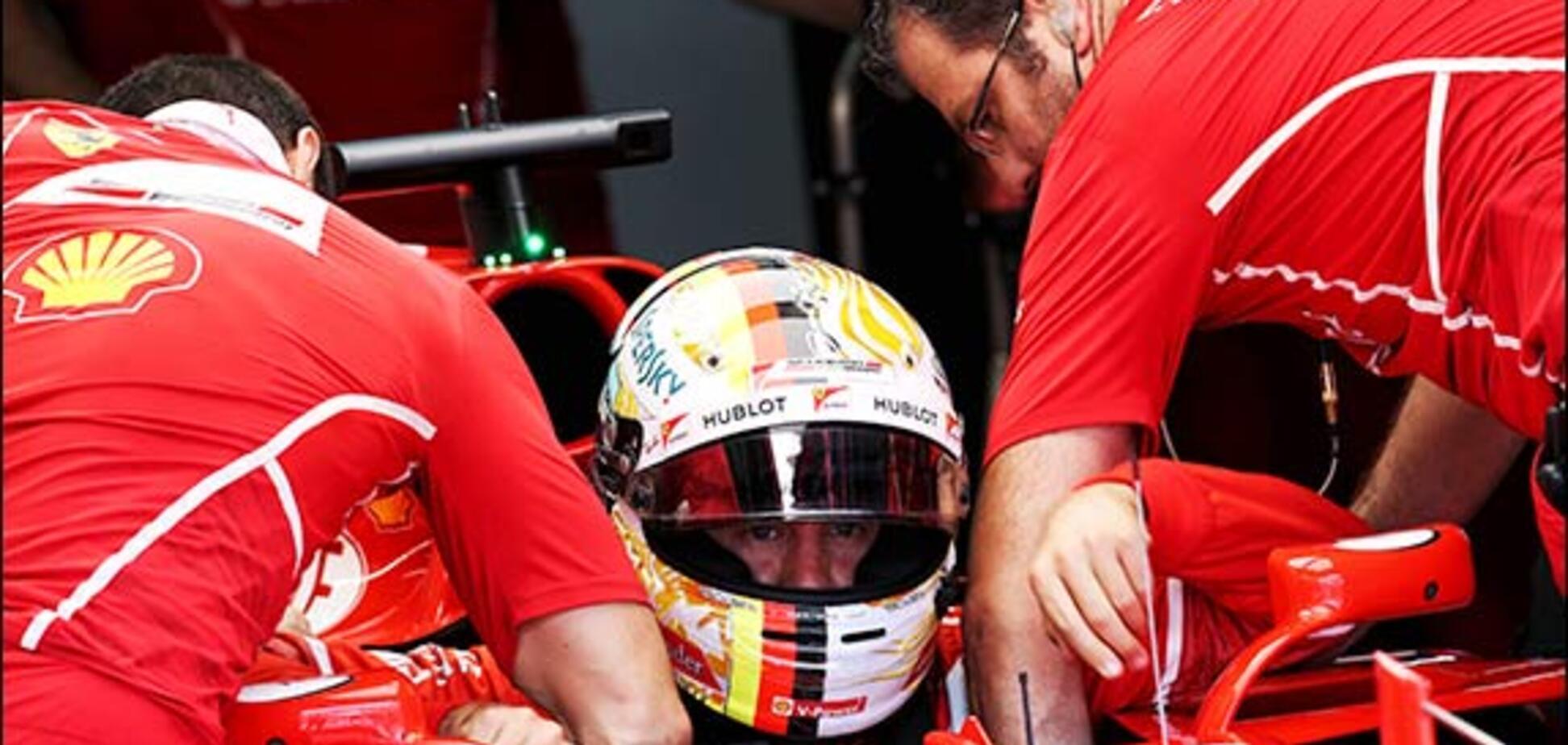 Катастрофа в Ferrari: Феттель не зміг виїхати на кваліфікацію і буде стартувати останнім
