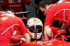 Катастрофа в Ferrari: Феттель не смог выехать на квалификацию и будет стартовать последним