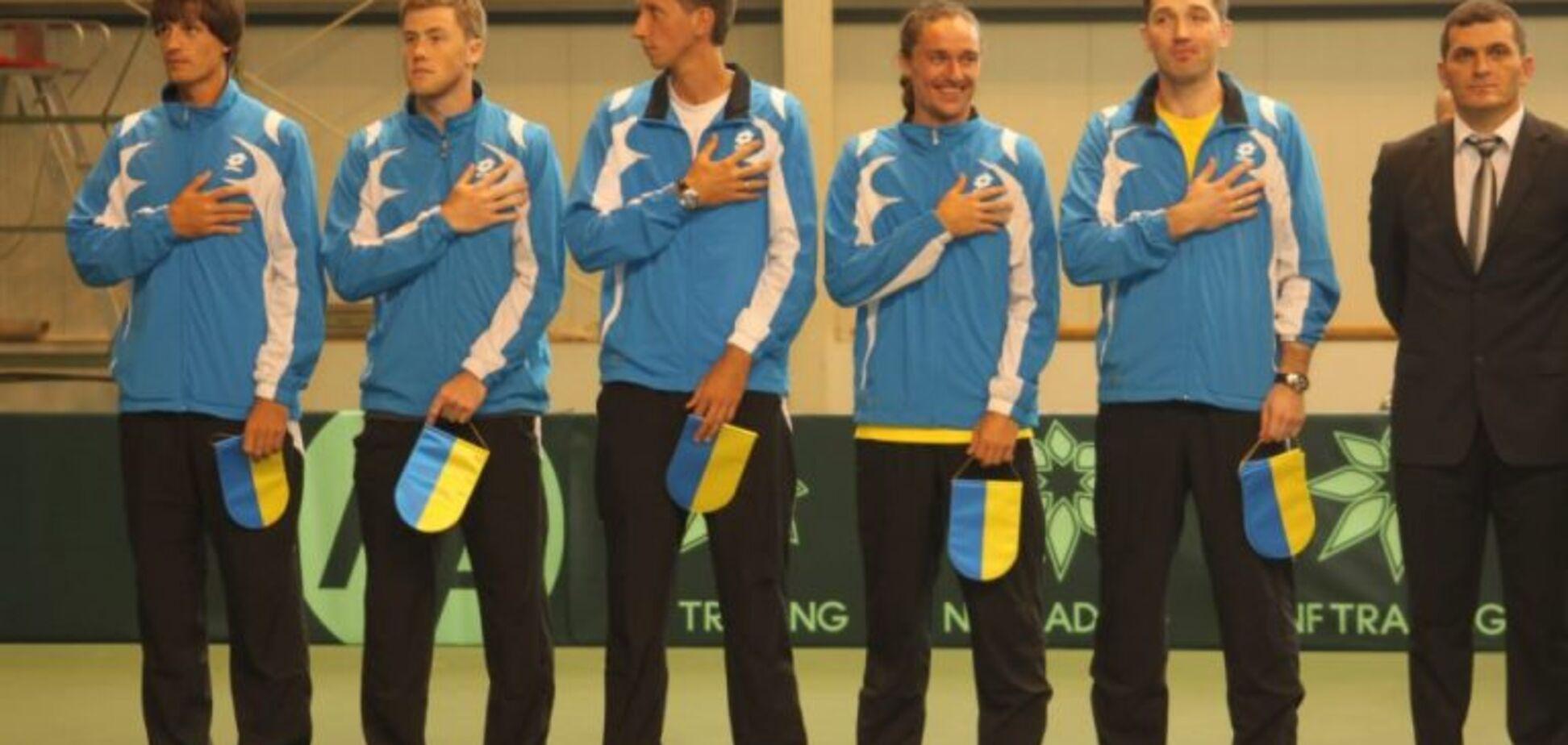 Сборная Украины по теннису