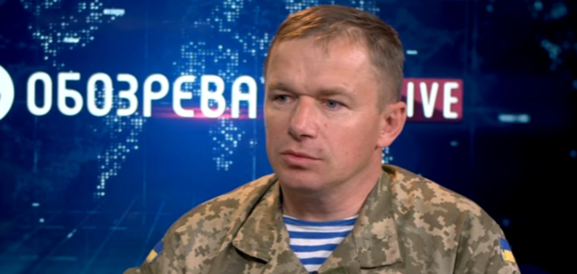 Полковник ЗСУ Віктор Шидлюх