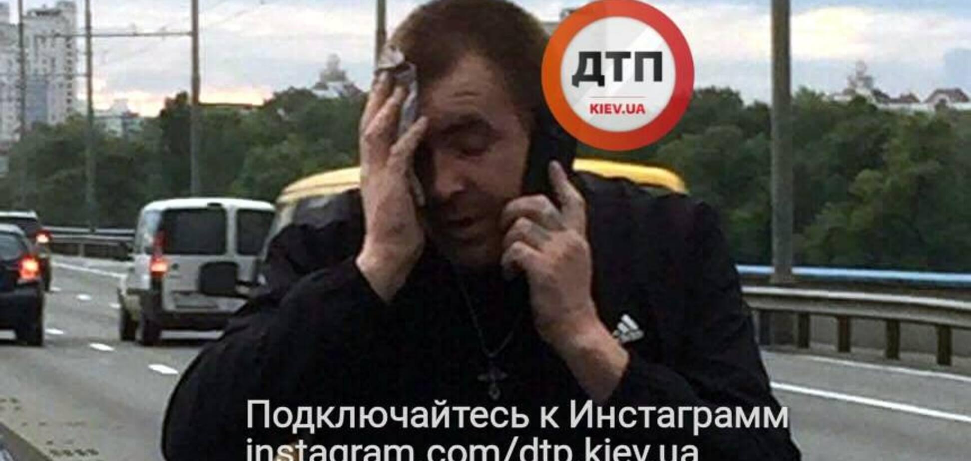 'Нещодавно вийшов із зони': в Києві п'яний таксист під наркотиками протаранив авто