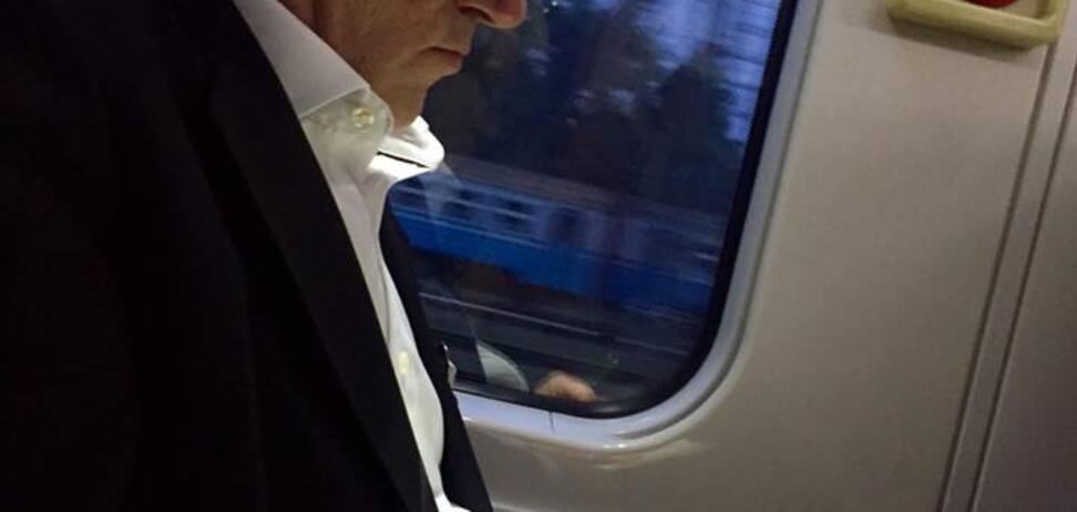 'Ви схожі на президента': з Ющенком стався курйозний випадок в електричці