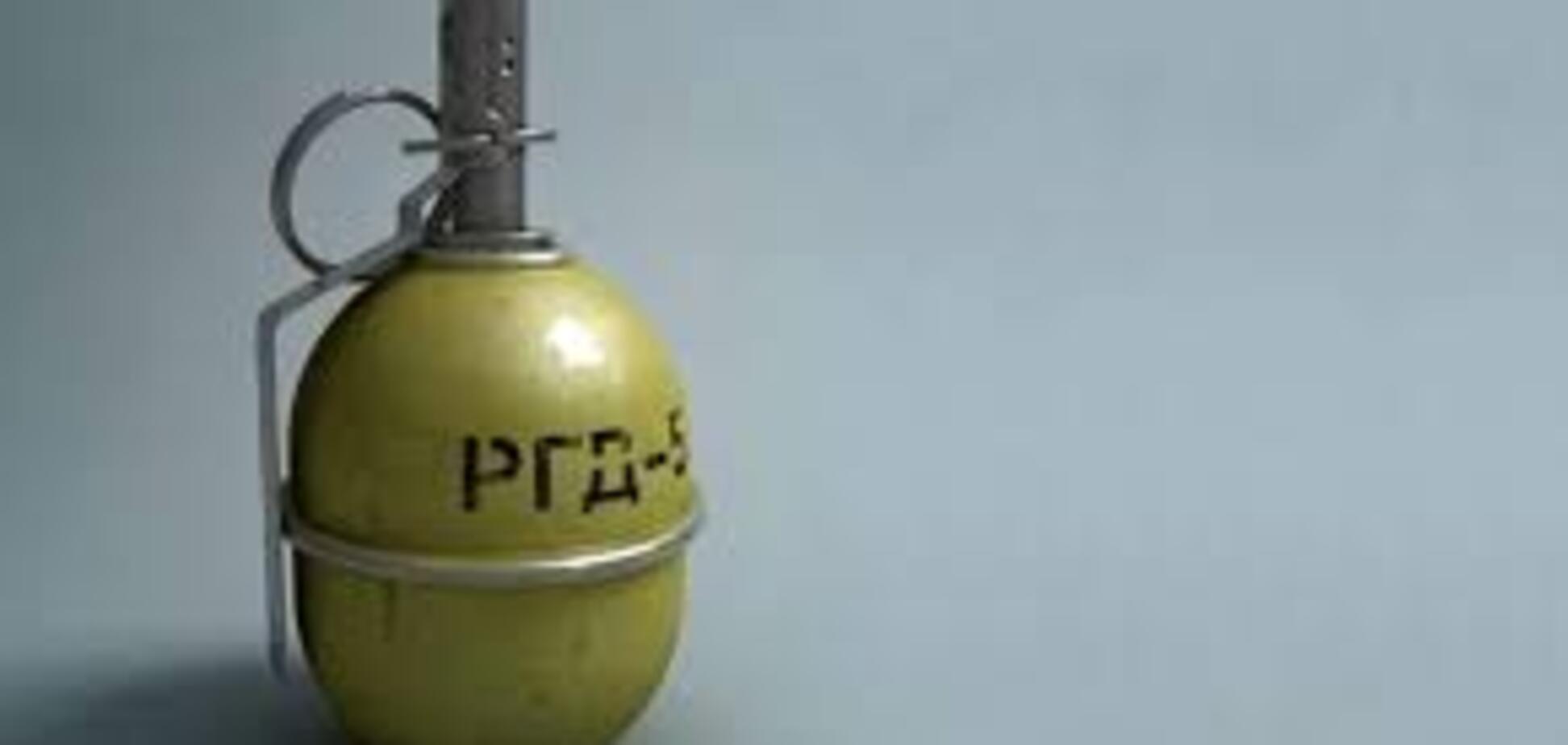В Запорожской области во дворе частного дома была установлена граната