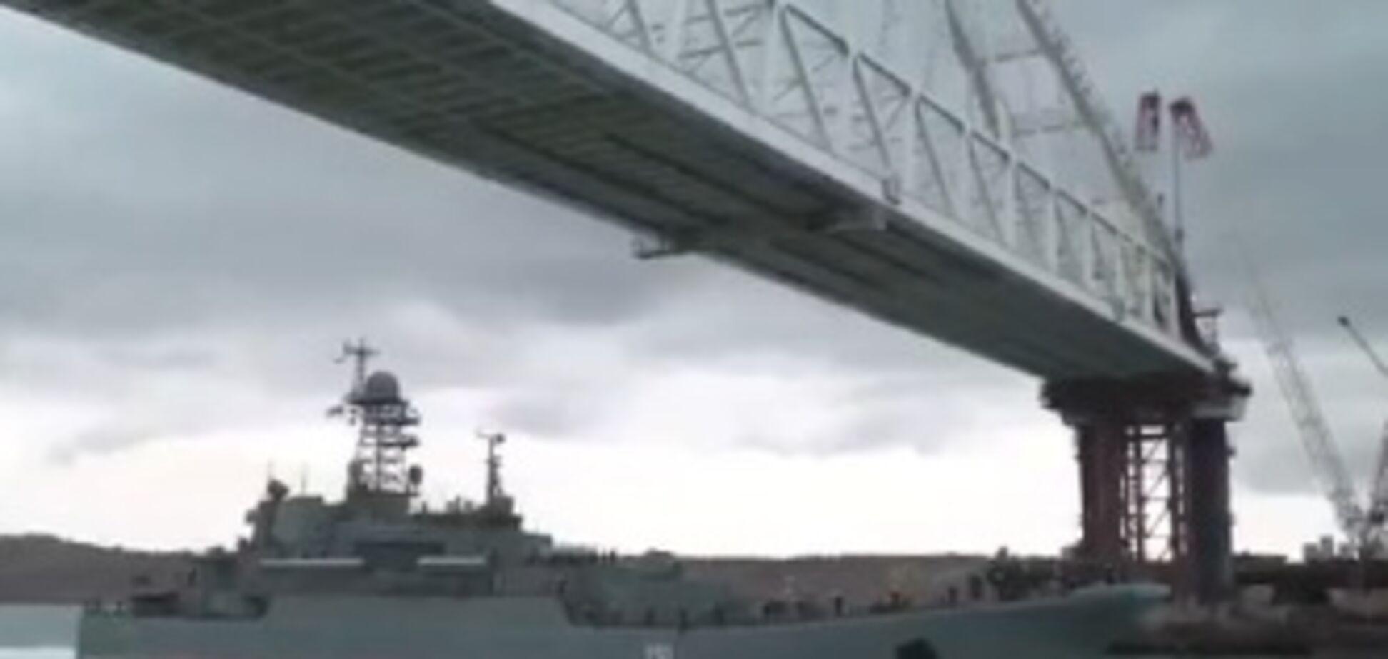 'До чого 'Мосфільм' дійшов': в мережі висміяли шоу окупантів під Керченським мостом