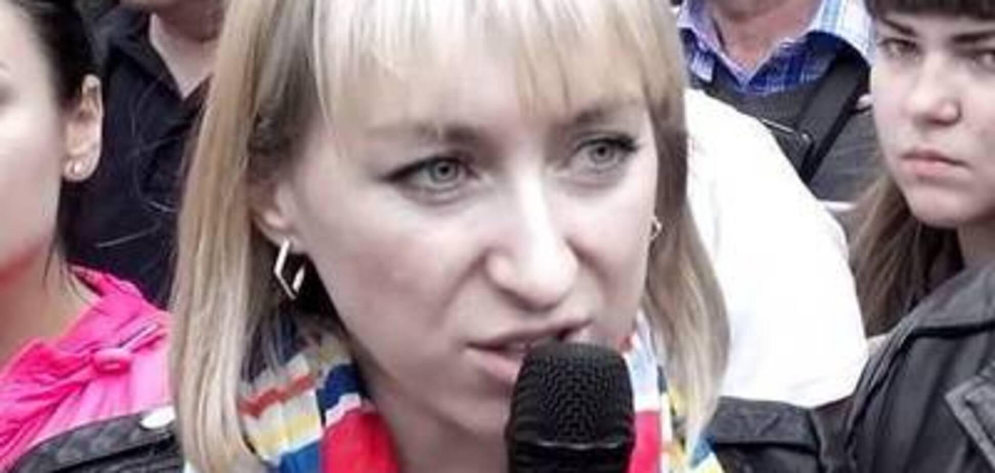 Сестру скандального нардепа Парасюка викрили в скупці квартир на Донбасі