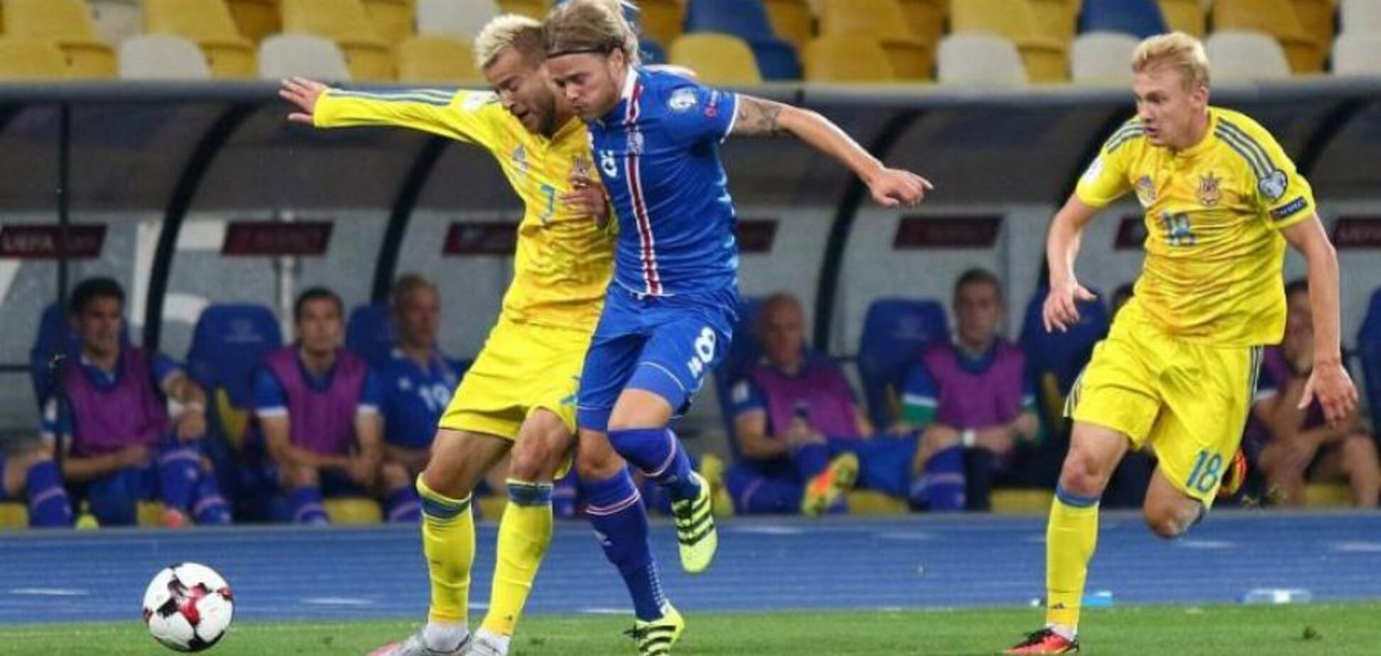 Шевченко втратив двох футболістів після матчу з Ісландією