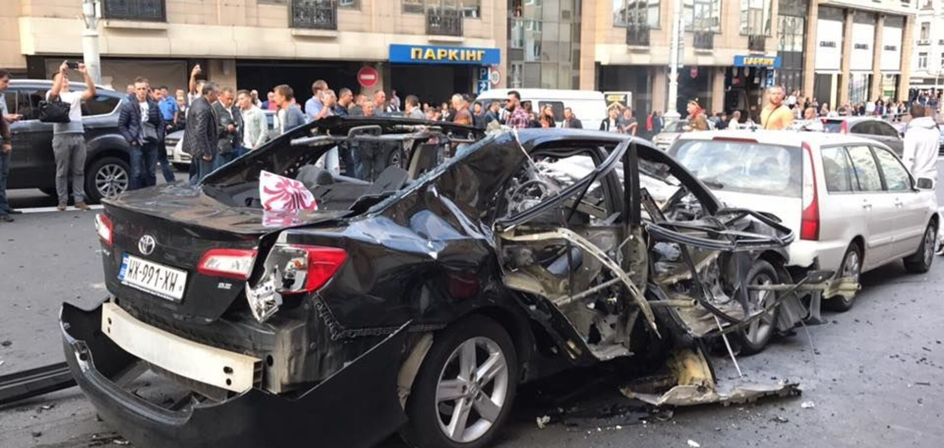 Лицо Dior: при взрыве 'врага Кадырова' в Киеве всемирно известной модели оторвало пятку
